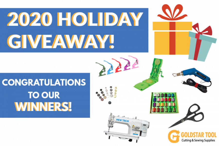 Announcing Our 2020 Holiday Giveaway Winners!