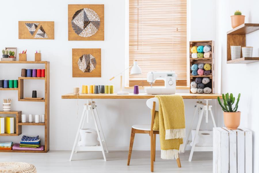 A Complete Guide to a Perfectly Organized Sewing Room