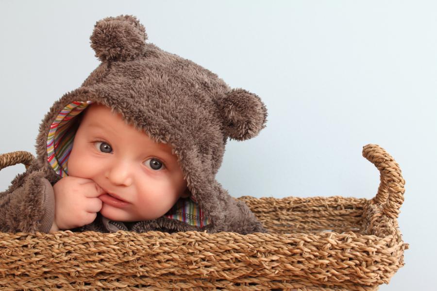 Homemade Children's Bear Costume