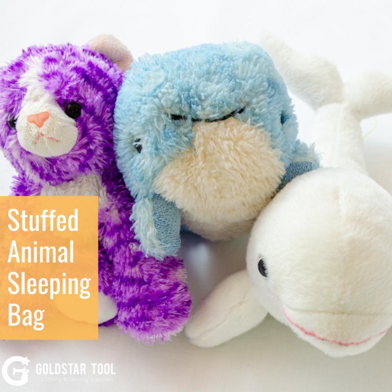 Kids Craft Series: Stuffed Animal Sleeping Bag