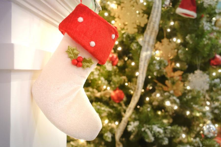 Simple Christmas Stocking Tutorial