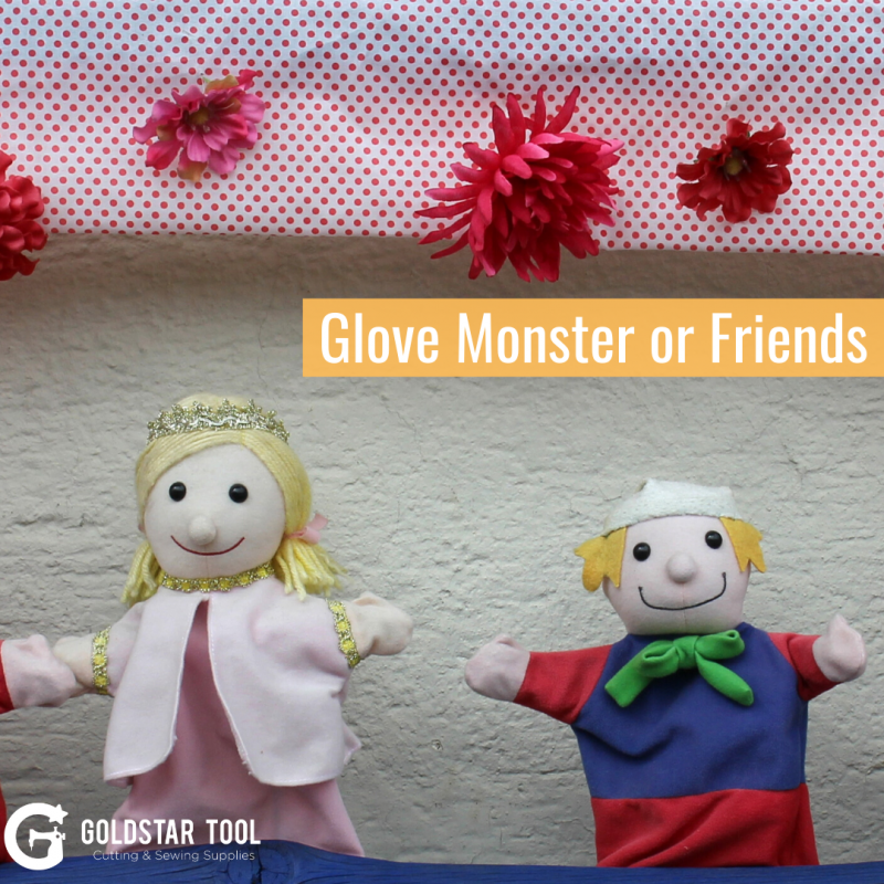 Kids Craft Series: Glove Monster or Friend