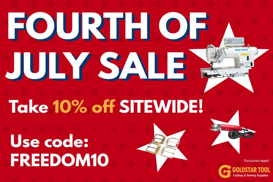 GoldStar Tool is Having a 4th of July Sale!