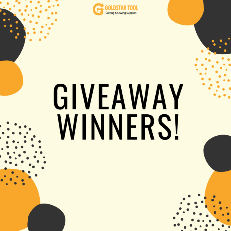 Announcing Our First Giveaway Winners