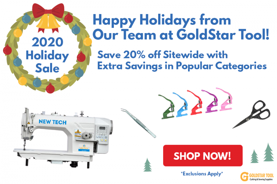 Holiday 2020 Sale Starts December 1st
