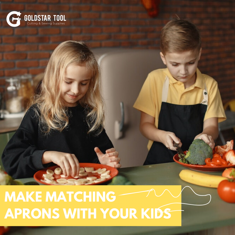 Make Matching Aprons for You and Your Child!