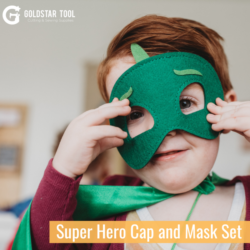 Kids Craft Series: Superhero Cape and Mask Set