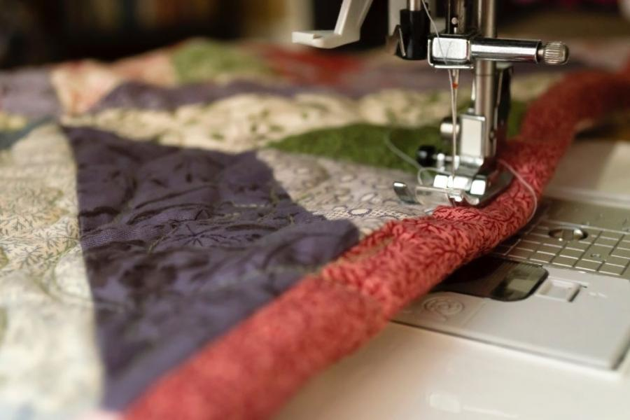 Several Ways a Walking Foot Makes Quilting Easier