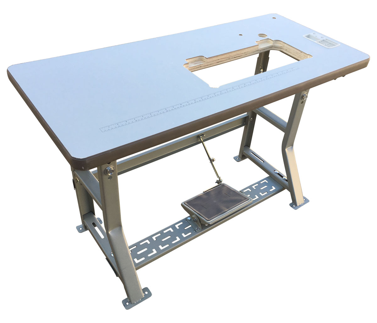 - Industrial Sewing Machine Table With K-Leg Table Frame Assembly