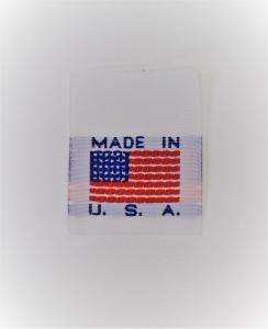 Made in USA Sew-on Clothing Labels