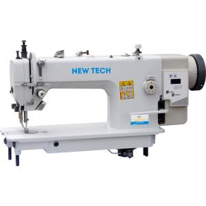 New-Tech GC-0303D Walking Foot Industrial Sewing Machine With Table and Built In Direct Drive Servo Motor