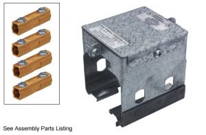 Electro-Rail - Coupling Set 4 Pole 50 AMP #ERS402-4