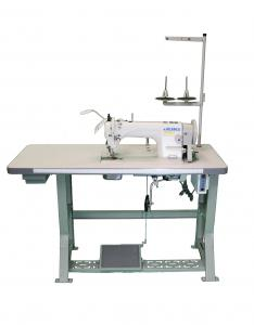 JUKI DU-1181N Single Needle, Straight Stitch, Walking Foot Industrial Sewing Machine With Table and Servo Motor