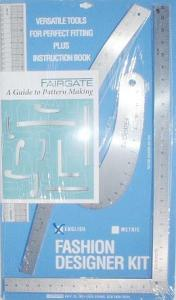 Fairgate Fashion Designer Rule Kit