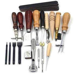 18 set Leather Craft Punch Tools Kit