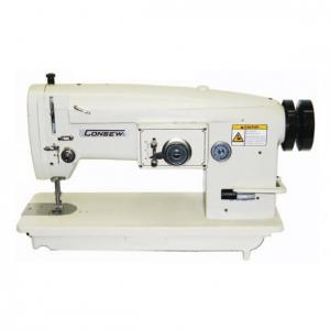 Consew 199R-3A-1 Single Needle, Drop Feed, Zig-Zag Lockstitch Industrial Sewing Machine With Table and Servo Motor