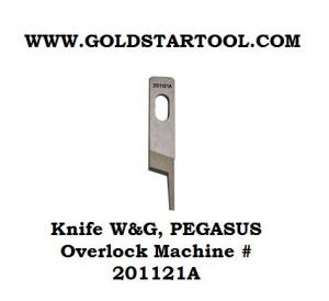 PEGASUS Over Lock Upper Knife 201121A