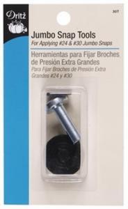 Dritz Jumbo Snap Fastener Tool Kit