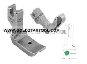 Metal Piping Foot, high shank Right Or Left (choose size)