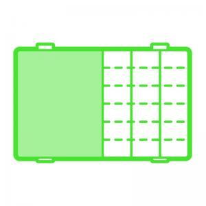 Solutions™ Medium 4-Compartment Box