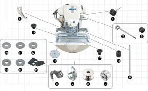 Spare Parts Kit - JUKI AMS-210/221/224 (ENH*)