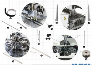 Spare Parts Kit - JUKI APW-895 (N)/896 (N)