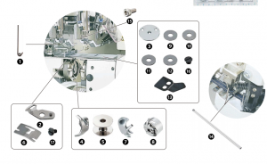 Spare Parts Kit - JUKI MOL-254