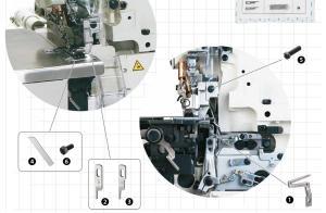 Spare Parts Kit - JUKI MO-6704/6714/6716
