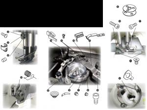 Spare Parts Kit - JUKI LU-2810A-7