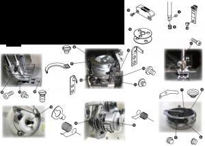 Spare Parts Kit - PLC-2710 / 2760S-7