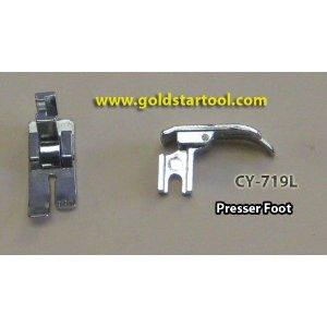 Straight Stitch Presser Foot for Sewing Machines,  Low Shank CY-719L