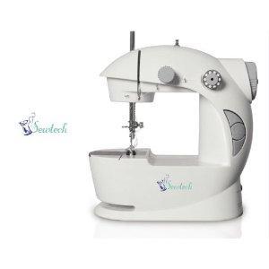 Sewtech Portable Mini 2-speed Sewing Machine w/Foot Petal