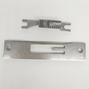 Needle Plate / Throat Plate  #91-150602-05 & Feed Dog #91-150602-04 Combo - Pfaff