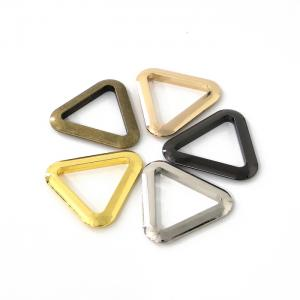 Metal Ring - Flat Cast Triangle