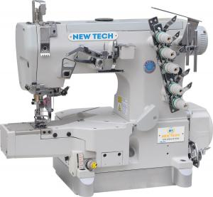 New-Tech GC-664-01DA 3-Needle 5-Thread Direct Drive Cylinder Bed Coverstitch Industrial Sewing Machine