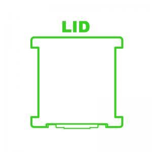 Super Satchel™ Deluxe 1-Compartment/1-Compartment Base