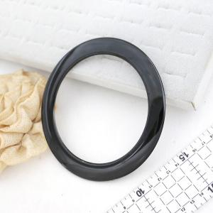 Purse Handle - Round Black 4