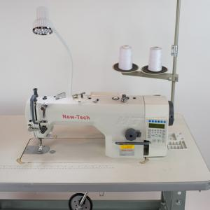 New-Tech GC-9000C High-Speed Single Needle Lockstitch Direct Drive Industrial Sewing Machine With Table and Servo Motor