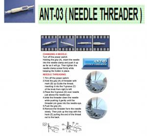 Sewing Machine Needle Inserter & Threader