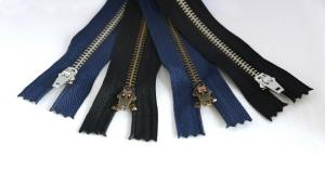 #5 Brass Closed-End Jean Zipper -7
