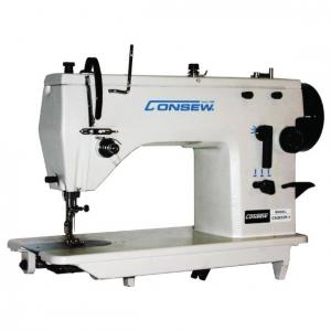 Consew CN2033R-1 Single Needle Drop Feed Zig-Zag Lockstich Industrial Sewing Machine With Table and Servo Motor