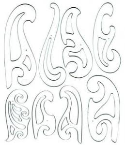C-Thru® 8-Piece French Curve Set