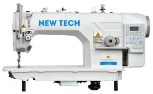 New-Tech GC-9000-D4 High-Speed Single Needle Lockstitch Direct Drive Industrial Sewing Machine With Table and Servo Motor