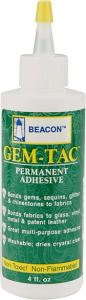 Beacon Gem-Tac Permanent Adhesive - 2 & 4 OZ