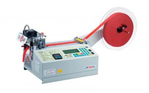 JM-120LR Auto-belt Loop Cutter (Cold & Hot) Cutting Machine