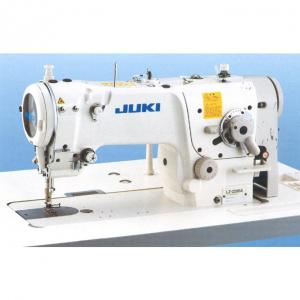 JUKI LZ-2280AA High-Speed 1 Needle Lockstitch Zigzag Stitching Industrial Sewing Machine With Table and Servo Motor