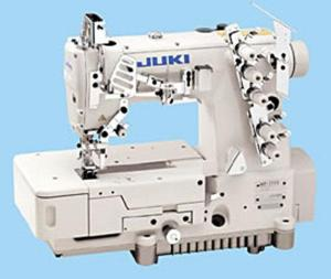 JUKI MF-7523-U11/UT High-speed Flat-bed Top and Bottom Coverstitch Industrial Sewing Machine With Table and Servo Motor