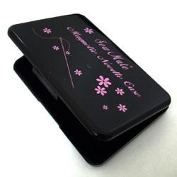Magnetic Needle Case, with 12 Gold Plated Sewing Needles