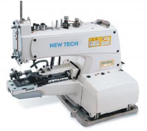 New-Tech MB-373 Chainstitch Button Attaching Industrial Sewing Machine With Table and Servo Motor​
