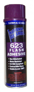 National Guard NG623 - High Temp Mist Flash Adhesive​